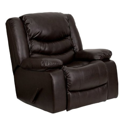 Flash Furniture MEN-DSC01078-BRN-GG Rocker Recliner
