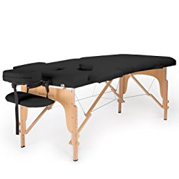 Salinoture Professional Portable Folding Massage Table with Carrying Case