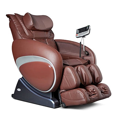 Cozzia 16027 Zero Gravity Shiatsu Robotic Massage Chair