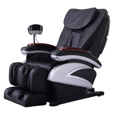 Electric Full Body Shiatsu Massage Chair Recliner w/ Heat Stretched Foot Rest 06C