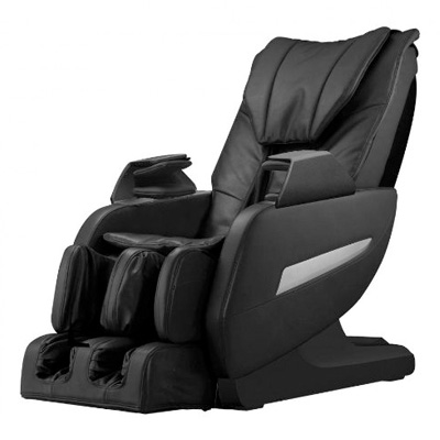 Full Body Zero Gravity Shiatsu Massage Chair Recliner with Heat and Long Rail 161